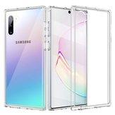 Bakeey Limpar Transparente À Prova de Choque PC TPU Caso Protetor Para Samsung Galaxy Nota 10 / Nota 10 5G
