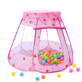 Blau / Rosa Kinder Baby Zelt Ocean Ball Pit Pool Spielhaus Kid Game Toy