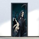Miico MT003 Halloween Aufkleber Türaufkleber Horror Wandaufkleber Abnehmbare Aufkleber