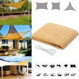Négyszög / háromszög sátor napernyő UV-vízálló előtető fedél napellenző kerti terasz kemping kültéri