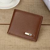 Portefeuille vintage en cuir véritable pour hommes