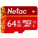 Netac P500 UHS-1 807 ميجابايت / ثانية TF الذاكرة بطاقة 32GB 64GB 128GB