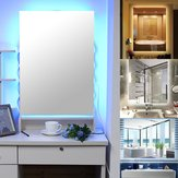 50x70cm Illuminated Bathroom LED Mirrors Wall Mounted Safe Touch Switch