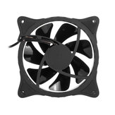 7 Colors 120mm PC Case Fan Computer Ultra Silent LED Light Cooler Heatsink Fan