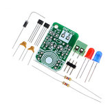 3pcs Hall Magnetic Induction Sensor Magnetic Detection Magnetic Pole Resolver North and South Pole Detection Module DIY Kit