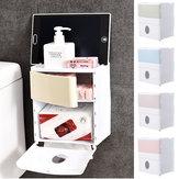 Phòng tắm Nhà vệ sinh Giấy giữ khăn giấy Nhà bếp gắn tường Lưu trữ Hộp tổ chức