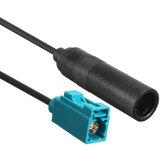 Fakra de tête de câble de connecteur d'adaptateur d'antenne d'autoradio stéréo à la femelle Din pour VW