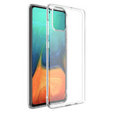 Bakeey Crystal Clear Transparent Non-yellow Soft TPU Protective Case for Samsung Galaxy A51 2019