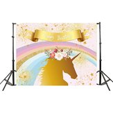 210x150cm Unicorn Wall Photography Backdrop Studio Kids Photo Props Backgrounds Decorations