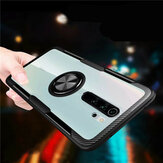 For Xiaomi Redmi Note 8 Pro Case Bakeey 360° Adjustable Ring Holder Anti-slip Shockproof Transparent TPU Protective Case Non-original