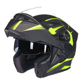 GXT 902 DOT Motorcycle Full Face Helmet Flip up Motocross Double Lens Racing Riding