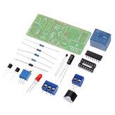 Placa de práctica de soldadura Electrónica Electrónica DIY Kit Kit de control de detección de monitoreo de temperatura y temperatura