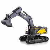 Huina 1592 Alliage 1/14 22ch Alliage Rc Excavator Trucks Excavator Remote Control Vehicle Models Toys