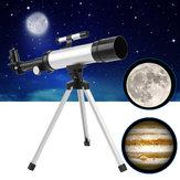 Astronomický dalekohled 360 x 50 mm HD Refrakční monokulární zorník s stativem