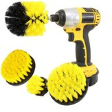 4pcs 2/3.5/4/5 Inch Electric Drill Brush Cleaning Brush Tool