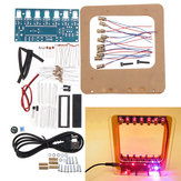DC4.5-5.5V DIY Laser Harpe Kit String DIY Tastatur Kit Elektroniske dele 7 Strings Elektronisk DIY Kit Teknologi Klavermusikboks