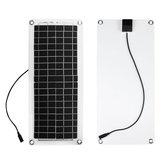 20W لوحة شمسية PET 5V / 12V مع USB مدخل