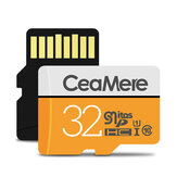 CeaMere Memory Card 32G 64G SD Card U1 U3 C10 TF Card for HD Picture Video Storage