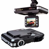 2in1 5MP auto DVR-recorder + radar Lasersnelheid Detector Verkeerswaarschuwing