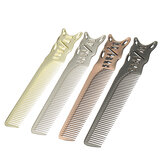 Space Aluminum Barbers Salon Hairdressing Comb