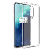 BAKEEY OnePlus 7T Pro Crystal Clear Transparent Ultra-mince Soft TPU Pro Étui de protection
