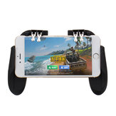 H9 Six Fingers SR Cooling Fan Gamepad Controller Cooler para iPhone Android para PUBG Games Batería incorporado