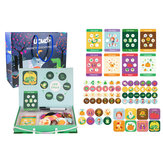 Magnetic Puzzle Leaning Life Cycle Animal Human Growth Educational Kids Toys for Kids Gift