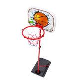 Kaldırılabilir Lastik Demir Çerçeve Basketbol Standı çocuk Outdoor Kapalı Spor Çekim Çerçeve Oyuncaklar