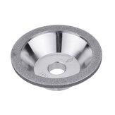 80-600 Grit Diamond Diamond Grinding Wheel Cup Grinding Bowl-form para Tungsten Steel Milling Cutter herramienta Afilador Grinder
