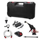 110-220v draadloze autowasmachine hogedrukreiniger met 2,5A-batterij