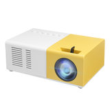 J9 LCD LED Projector 1200 Lumens 800: 1 الدعم 1080P Portable Office Home Cinema