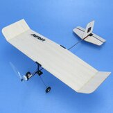 URUAV M1-Wasp 224mm Wingspan Balsa Wood / PP Board Optional Carbon Fiber Beginner Indoor RC Airplane KIT