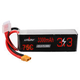 URUAV 22.2V 3300mAh 75C 6S Lipo Battery XT60 Plug for KDS INNOVA 550 RC Helicopter
