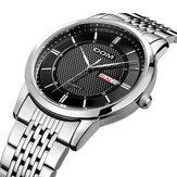 DOM M-11D Casual Super Slim Men Watch 3ATM Waterproof Date Week Display Quartz Watch