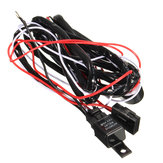 2.5M LED Work Light Relay Wire Harness Loom Fuse Switch DC12V 40A for Offroad SUV Truck