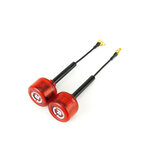 Une paire Rush Cherry RHCP MMCX Angle Droit 1.2dBi 5.8Ghz FPV Racing Antenne pour RC Drone