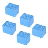 5 قطعة QIANJI JQC-3F (T73) -5VDC 12VDC T73 5V 12V 10A 5Pin Relay Module