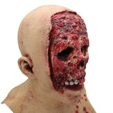 Adult Halloween Latex Bloody Mask Zombie Clown Horror Scary Costume Cosplay