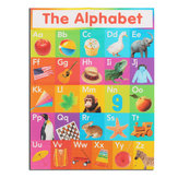 ABC Alphabet Learn Children's Educational Silk Cloth Poster Decor Wall Paper