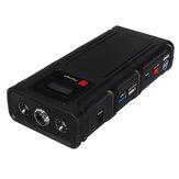 12800 мАч Многофункциональный Авто Jump Starter Поддержка USB QC3.0 Зарядка LED Фонарик Type-C Порт
