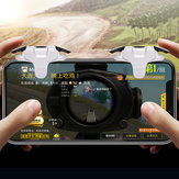 Bakeey Plating PUBG Mobile Game Controller Gamepad Trigger Aim Button Shooter Joystick with Airdrop Packaging Box for iPhone iOS Android Mobile Phone
