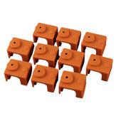 10pcs caisse de silicone de café pour la couverture de protection 280 Block de bloc de chauffage de Hotend pour l'imprimante 3D