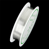 2-1.0mm Craft Frezowanie Drut Srebrny drut miedziany do bransoletki Naszyjnik Biżuteria Akcesoria do majsterkowania