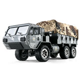 Everyine EAT01 1/16 2.4G 6WD RC Car Proportional مراقبة US Army Military Off Road Rock Crawler Truck RTR Vehicle نموذج