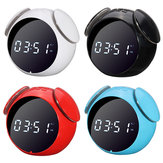 Wireless bluetooth Speaker Alarm Clock for Smartphones Tablet