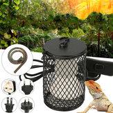Ceramiczna osłona przeciw oparzeniom E27 Uchwyt lampy z włącznikiem światła Gad Wąż Kurczak węża