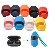 Bakeey 3 in 1 Portable Shockproof Non-slip Silicone Earphone Storage Case with Lanyard for Samsung Galaxy Buds