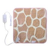 220v Soft Cobertura aquecida elétrica Sofá do escritório Joelho de inverno Cobertura quente Aquecedor