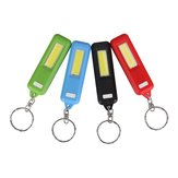 Portable Mini COB LED Keychain Camping Work Light Pocket Flashlight for Outdoor Hiking Fishing