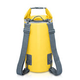 PVC Waterproof Swimming Dry Backpack Folding Storage Bag For Canoe Floating Boating Kayaking Camping Snorkeling Travel Outdoor